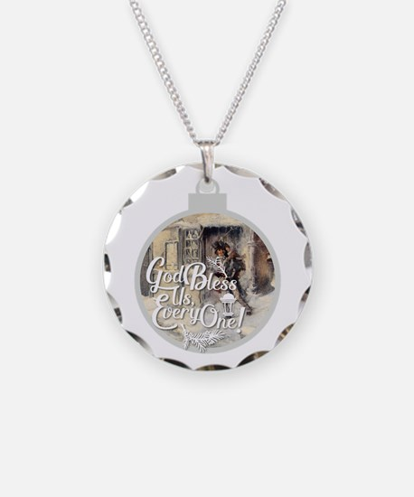 God Bless Us Every One! Necklace