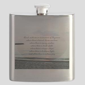Prayer of St. Franics Flask