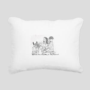 Jamie & Claire Forev Rectangular Canvas Pillow