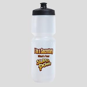Super Power - Secretary Sports Bottle