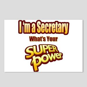Super Power - Secretary Postcards (Package of 8)