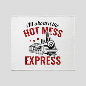 Hot Mess Express Stadium Blanket