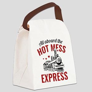 Hot Mess Express Canvas Lunch Bag