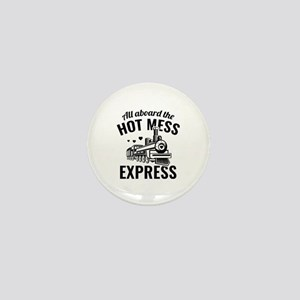 Hot Mess Express Mini Button