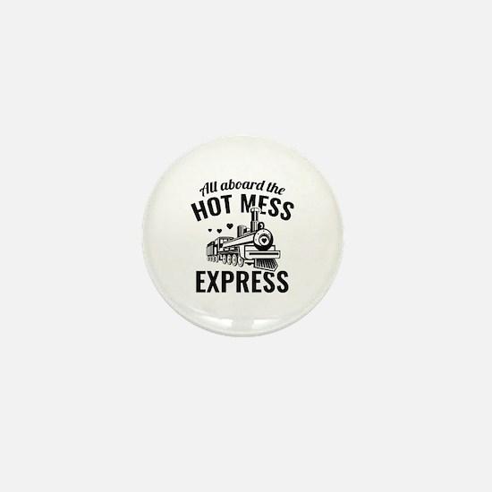 Hot Mess Express Mini Button