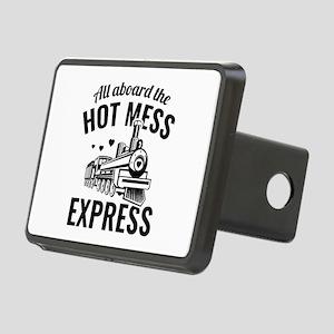 Hot Mess Express Rectangular Hitch Cover