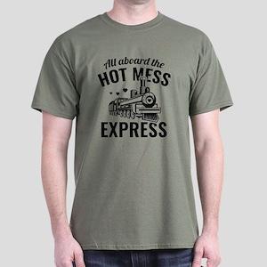 Hot Mess Express Dark T-Shirt
