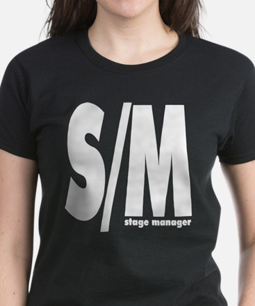 S/M White on T-Shirt