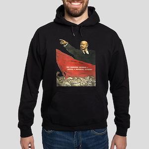 Vladimir Lenin soviet propaganda Sweatshirt