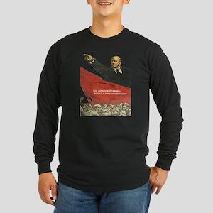 Vladimir Lenin soviet propaga Long Sleeve T-Shirt