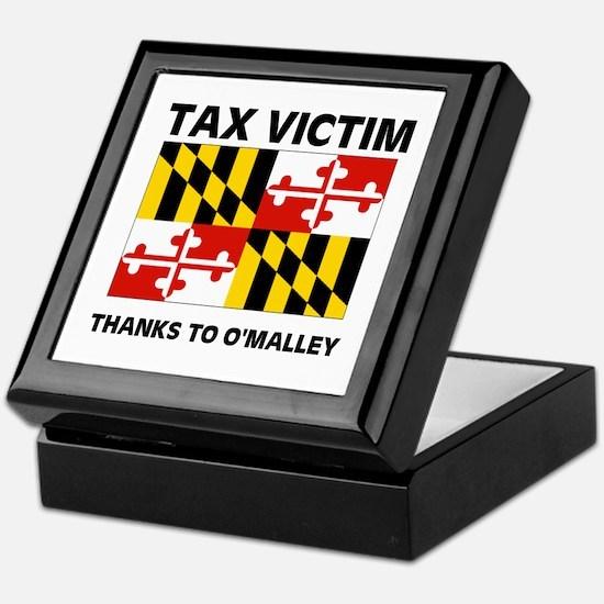 TAX VICTIM Keepsake Box