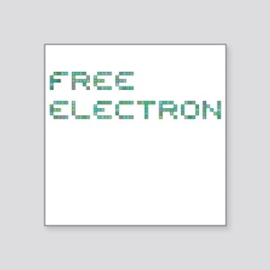 Free Electron (Pixels) (Green) Sticker
