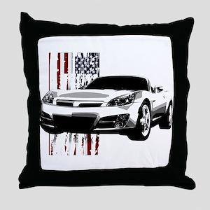 Sky U.S. Throw Pillow
