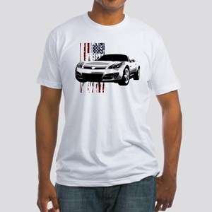 Sky U.S. Fitted T-Shirt