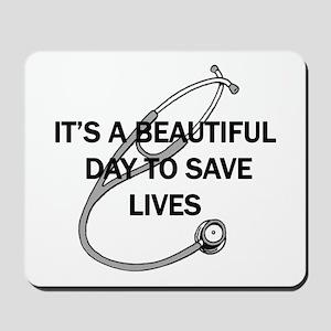 Saving Lives Mousepad