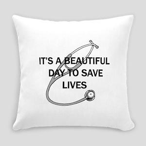 Saving Lives Everyday Pillow