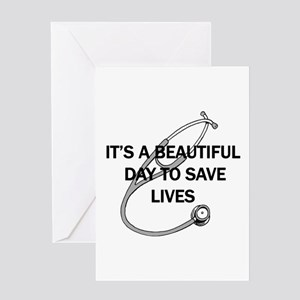 Saving Lives Greeting Cards