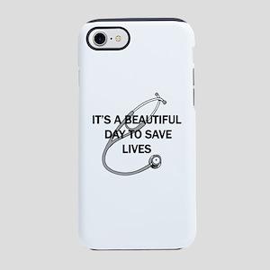Saving Lives iPhone 8/7 Tough Case