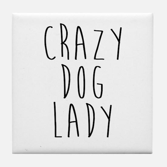 Cute Chihuahua mom Tile Coaster