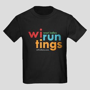wi run tings Kids T-Shirt