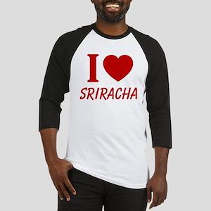 I Heart Sriracha Baseball Jersey