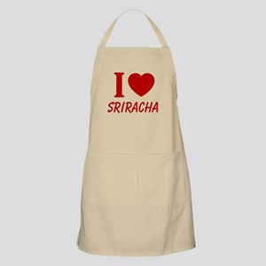 I Heart Sriracha Apron