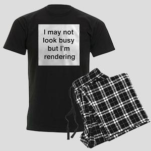 Busy Rendering shirt Pajamas
