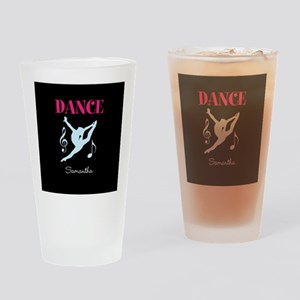 Dance personalized Drinking Glass