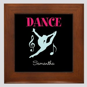 Dance personalized Framed Tile