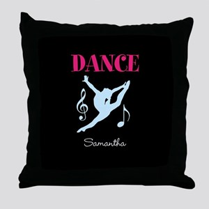 Dance personalized Throw Pillow