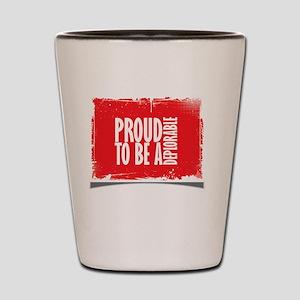 Proud Deplorable Shot Glass