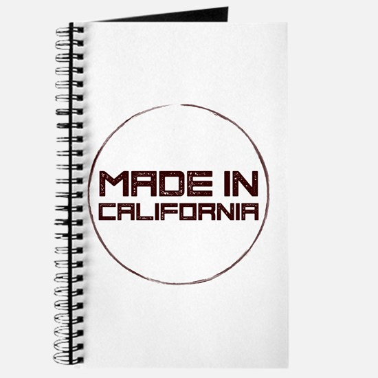 Cute Made in california Journal