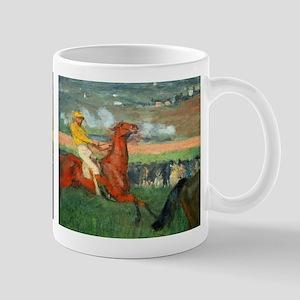 Amateur Jockey by Edgar Degas Mugs