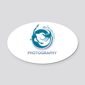 photography Oval Car Magnet