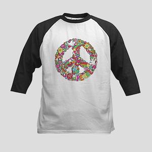 Peace & Love Baseball Jersey