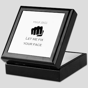Fix Your Face Keepsake Box