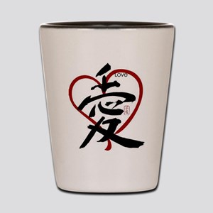 Asian Love Shot Glass