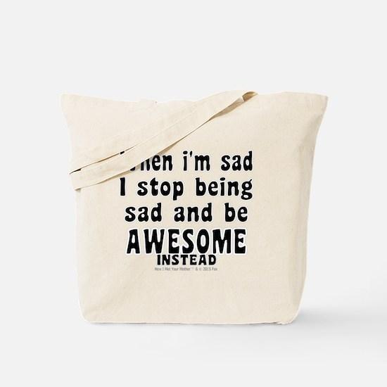 Cool Barney Tote Bag