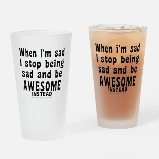 Unique Barney stinson Drinking Glass