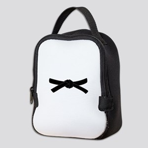 Black Belt Neoprene Lunch Bag