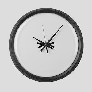 Black Belt Large Wall Clock