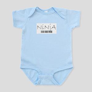 Ninja Barcode Body Suit