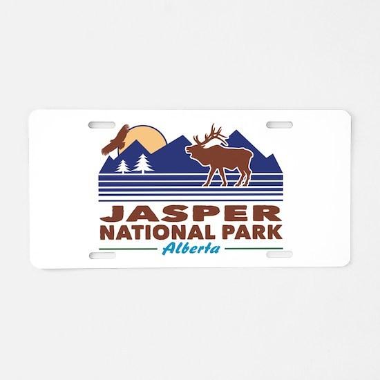 Jasper National Park Aluminum License Plate