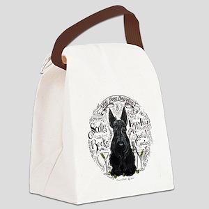 Scottie Time Canvas Lunch Bag