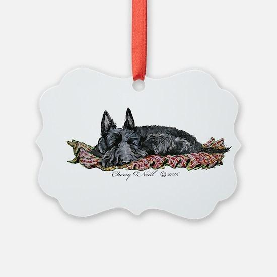 Scottie Slumber Ornament