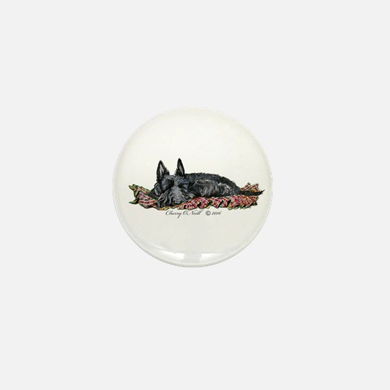 Scottie Slumber Mini Button