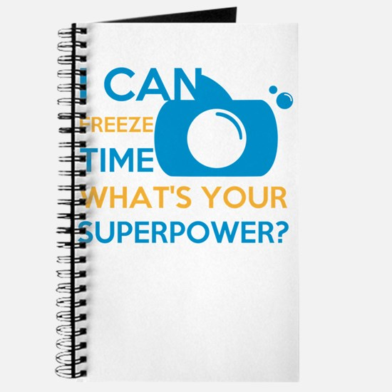 i can free time, what's your superpowe Journal