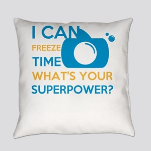 i can free time, what's your s Everyday Pillow