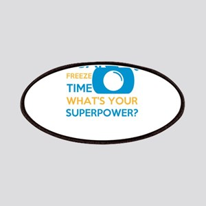 i can free time, what's your superpower? Patch