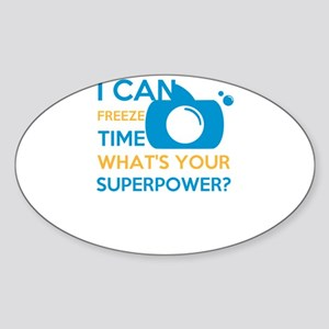 i can free time, what's your superpowe Sticker